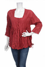 GUDRUN SJODEN SILK & COTTON TOP BLOUSE  BLUSEN