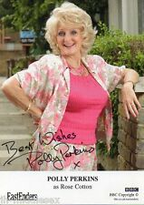 Polly Perkins Autograph - EastEnders - Signed 6x4 Cast Card - AFTAL