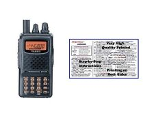 Yaesu FT-60R Handheld Radio & Nifty Quick Reference Tri-Fold Guide Bundle!