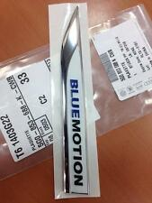 LOGO BLUEMOTION MOTION GOLF 7 VII R-LINE PASSAT SCIRROCO ORIGINAL 15CM  NEW