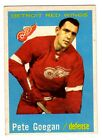 1X PETE GOEGAN 1959-1960 Topps #4 EXNM 59-60 Red Wings