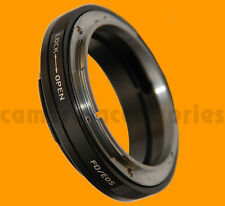 Macro Canon FD mount lens to EF EOS camera body adapter ring for 650D 1D X 60Da