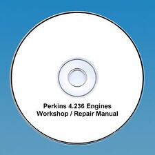 Perkins 4.236 Series Engines Workshop Repair Manual CD PDF