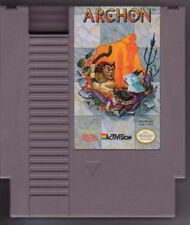 ARCHON with cosmetic flaws ORIGINAL CLASSIC NINTENDO GAME ORIGINAL NES HQ