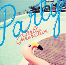K-POP Girls' Generation SNSD Single Album [PARTY] CD Sealed