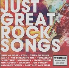 Just Great Rock Songs by Various Artists (CD, Jul-2016, 2 Discs, Sony Music)