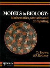 Computing Examples Supplement to Models in Biology : Mathematics, Statistics...