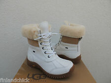 UGG ADIRONDACK II WHITE eVENT WATERPROOF SHEEPSKIN BOOTS, US 8.5/ EUR 39.5 ~NIB