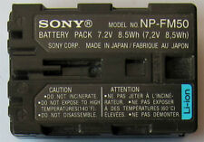 Original Sony Np-fm50 ion-litio Original Np-fm55h, Np-fm30, NP-FM51 Np-qm70