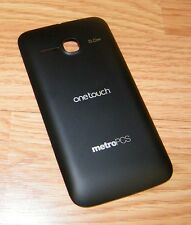 *Replacement* Black Battery Cover / Door Only For Alcatel Onetouch Evolve *READ*