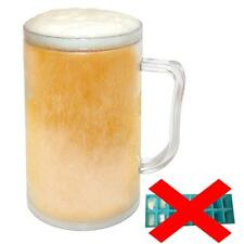 FREEZE FROSTY ICED JELLY GEL BEER MUG CUP JUG TANKARD DRINKS COOLER 400ML NEW