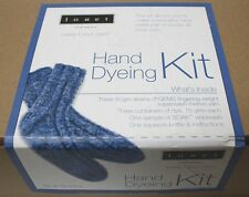 Louet Hand Dyeing Sock Knit Kit - Blues