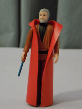 STAR WARS VINTAGE 1977 KENNER WAVE 1 12-BACK BEN OBI-WAN KENOBI! GREY HAIR!