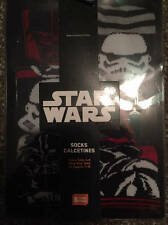 Star Wars Socks Set 6 Sz. 4-6 Shoe Size 7-10 NEW Kids