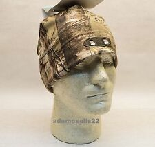 PANTHER VISION LED WINTER BEANIE CAP HAT CAMO CAMOUFLAGE HUNTING HAND FREE LIGHT