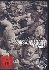 Sons of Anarchy - 6 Staffel-Season  - NEU OVP - 5 DVD Box - FSK 18 - Rental