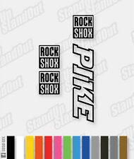 RockShox PIKE Decals / Stickers - Hollow Version - Custom / Fluorescent Colours