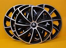 "CITROEN C3,C4,C5,Picasso 4x15""  ALLOY LOOK CAR WHEEL TRIMS/COVERS 15"" HUB CAPS"