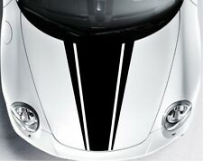 Indiashopers Dual Racing Stripe Windows, Sides, Hood, Bumper Car Sticker