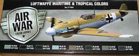 Vallejo Model Air Val71164 WWII Luftwaffe Maritime/Tropical 8 colour paint set