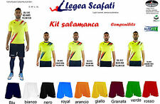 Kit Calcio Salamanca Legea 8 kit 128€ Calcetto Muta Divisa