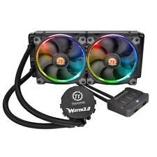 Thermaltake Water 3.0 Riing RGB 240 2x 120mm CPU Liquid Cooler for Intel LGA2011