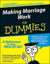 Making Marriage Work for Dummies  BOOK NEW