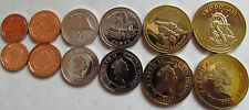 """Pitcairn Islands  2009 full set of 6 coins """"5+10+20+50 cents +1+2 dollars"""" UNC"""