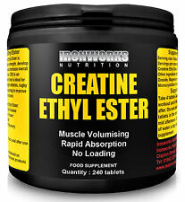 240 CREATINE ETHYL ESTER ANABOLIC GROWTH PILLS TABLETS