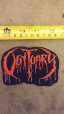 VECCHIA PATCH OLD VINTAGE  HEAVY METAL ROCK GROUP OBITUARY 1980 1990