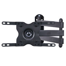 "Articulating Tilt Swivel TV Wall Mount Bracket for Samsung 24 28 29 32"" LED BOU"