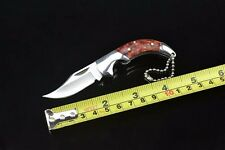Creative Pocket Knife Folding Mini Knife Stainless with Key-chain Gift Knife