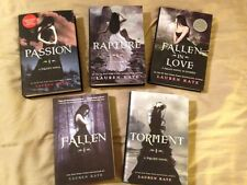 Fallen signed by Lauren Kate + other books in series