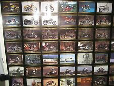"""Harley-Davidson 1993 Series 3 Trading Cards in an Uncut Sheet, 36.5"""" x 26.5"""""""