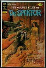 Gold Key Comics The Occult Files Of DOCTOR SPEKTOR #14 VFN- 7.5