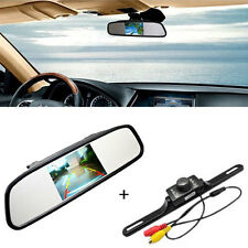 "4.3"" TFT LCD Monitor Car Rear View System Backup Reverse Camera Night Vision Kit"