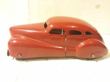 Wyandotte Four Door Coupe Pressed Steel Toy 1940s Wooden Tires