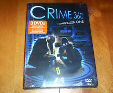 CRIME 360 THE COMPLETE SEASON 1 One A&E Real Crime Police Series NEW 3 DVD SET
