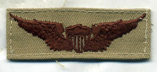 US Army Aviator Wing Badge DCU Desert Tan Patch