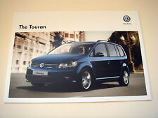 Volkswagen . Touran . The Touran . December 2012 Sales Brochure