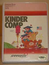 Kinder Comp Tested Game C64 & 128 cartridge by spinnaker for Commodore 64 RARE