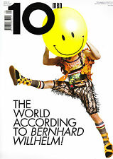 10 TEN MEN Magazine #20 BERNHARD WILLHELM Sid Ellisdon SAM RIGBY Hadrien Bal NEW