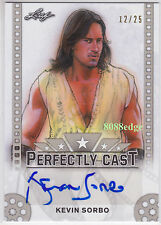 2016 POP CENTURY PERFECTLY CAST AUTO: KEVIN SORBO #12/25 AUTOGRAPH HERCULES/XENA
