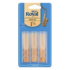 Rico Royal Tenor Saxophone Reeds #1.5 (3-Pack) NEW rkb0315
