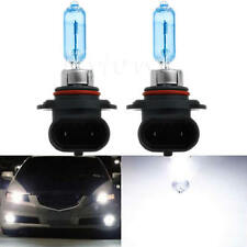 2 x White 9005/HB3 6000K Xenon Gas Halogen Headlight Light Lamp Bulbs 100W 12V