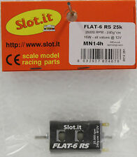 SLOT IT SIMN14H FLAT 6 RS 25,000 RPM HIGH TORQUE MOTOR NEW 1/32 SLOT CAR PART