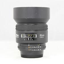 Used Nikon Nikkor 85mm f/1.8 AF D Lens