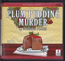 Plum Pudding Murder by Joanne Fluke (2009, CD, Unabridged) Hannah Swensen Ser 12