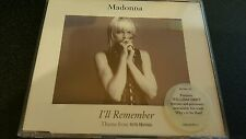 MADONNA I'LL REMEMBER 4 TRACK CD SINGLE FRE POSTAGE