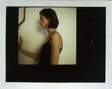 PHOTO ANCIENNE - VINTAGE SNAPSHOT - FEMME MODE POLAROID PROFIL - WOMAN FASHION